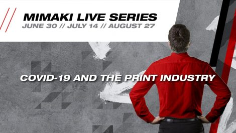 Mimaki to host Live Series exploring Coronavirus recovery