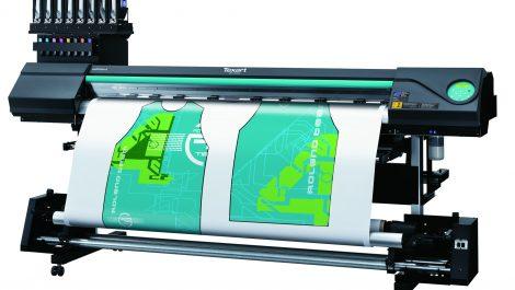 Roland printer installed at Magic Textiles