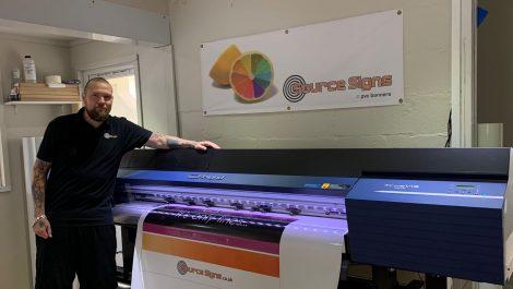 Glasgow printer swaps VersaCAMM for TrueVIS