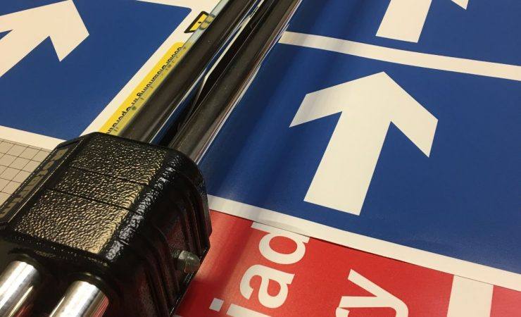 Drytac supplies materials for Cardiff Uni signage