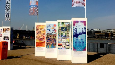 RA Smart prints Rivers of the World flags