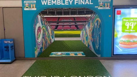 Link Signs uses Drytac to celebrate Euro 2020