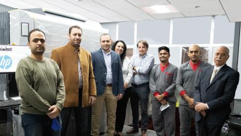 HP Indigo 12000 installed in Egypt