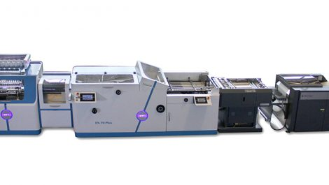 Roll-fed folding and sewing system from Tecnau and Smyth