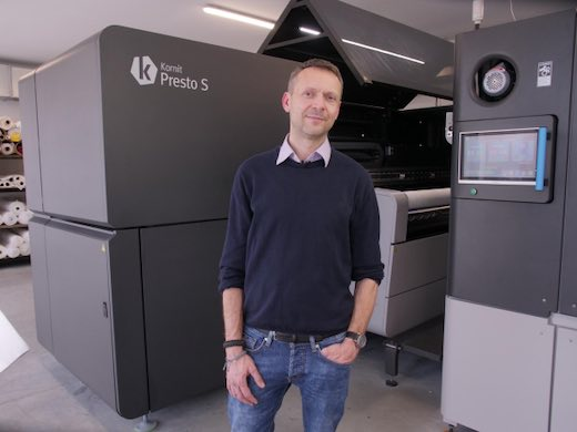 Kornit Presto helps Polish microfactory