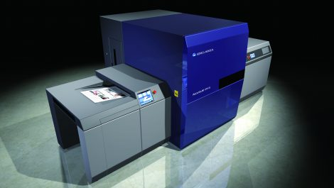Konica Minolta KM-1e B2 digital press