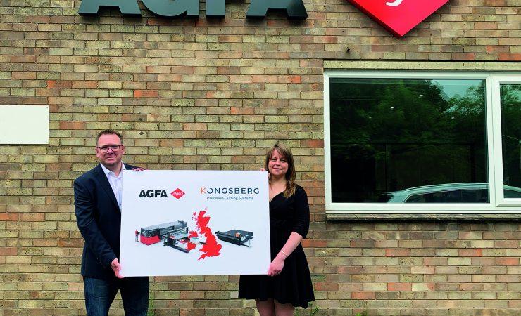Agfa welcomes Kongsberg to showroom