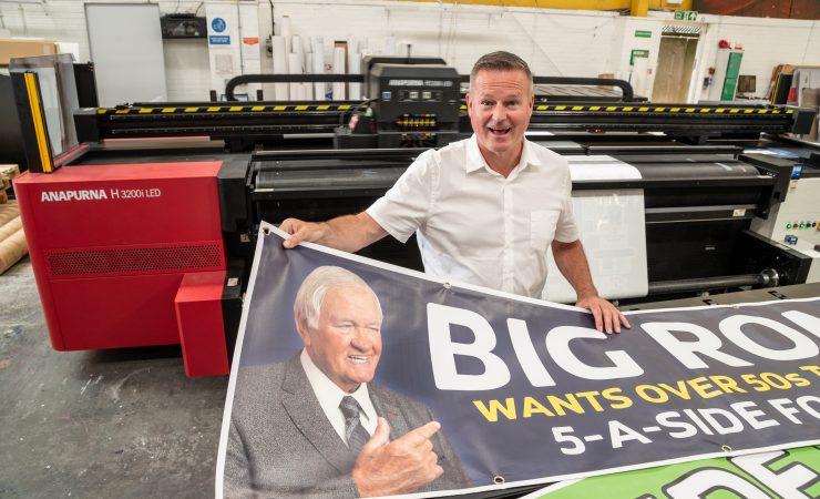 Agfa Anapurna ups the ante at Wallace Print