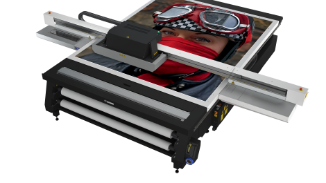 Canon increases productivity with new wide-format flatbed