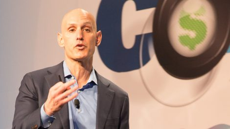 Muir emphasises pace of change at Connect keynote