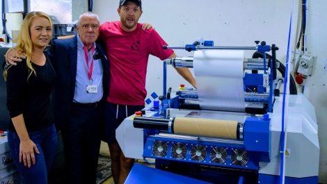 IFS laminator aids book production