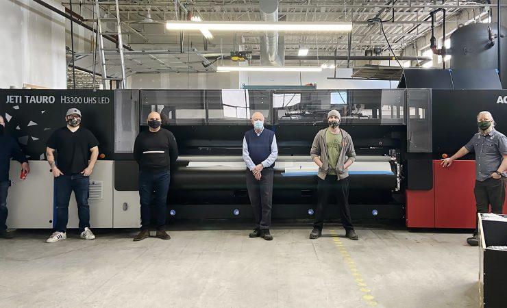 North America's first Jeti Tauro H3300 UHS lands in Toronto