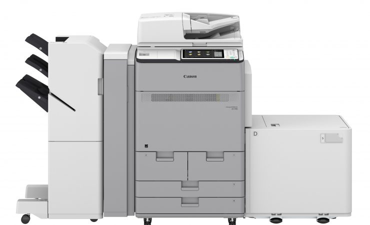 Canon adds entry-level presses and scores sales century