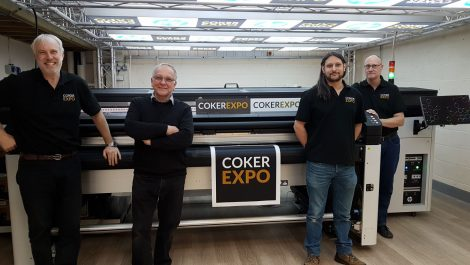 Coker lights up Huebox with HP Latex hybrid