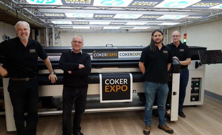 Coker lights up Huebox with HP Latex hybrid