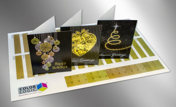 Color-Logic goes for gold, using only silver plus CMYK