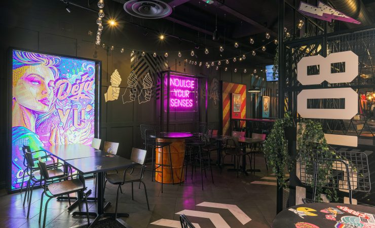 MacroArt creates unique Cardiff store for Creams Café