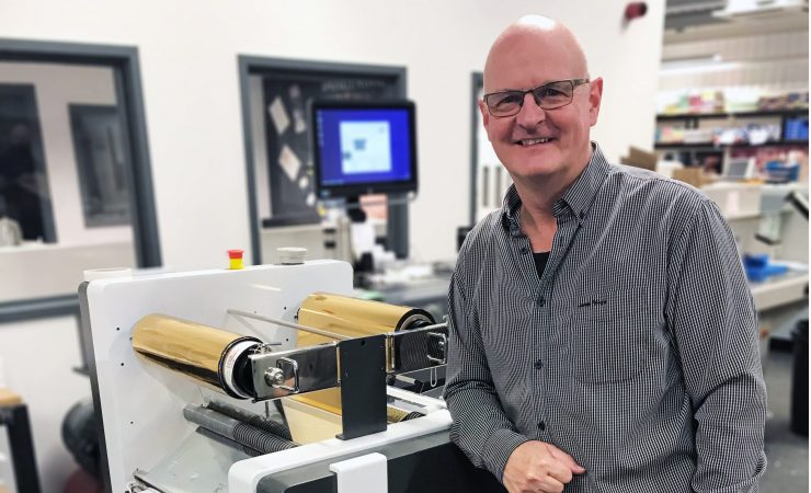 Flexpress installs UK's first DuSense Digi Foil