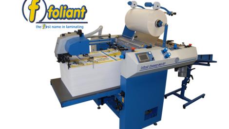 Croydon printer installs Foliant laminator