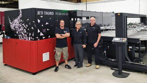GSP installs USA's first Jeti Tauro H3300 UHS LED