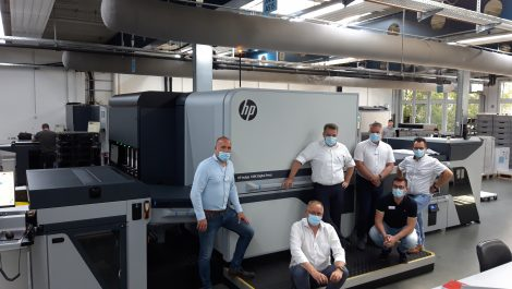 HP Indigo 100K up and running in The Netherlands