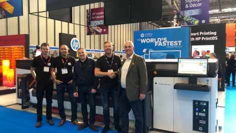 Manchester Print Services takes a Stitch in time
