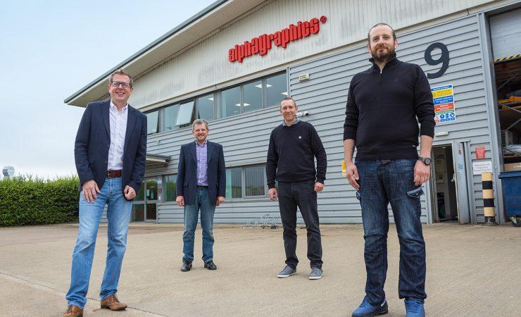 AlphaGraphics acquires key education customer