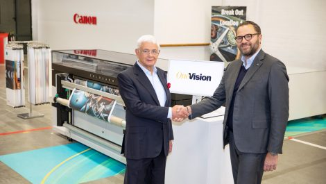 Canon and OneVision partner for wide-format workflow