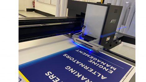 Yorkshire signage printer installs Jetrix flatbed