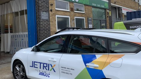 InkTec rebrands vehicles during Southampton installation