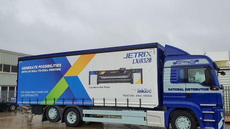 InkTec introduces branded Jetrix lorry