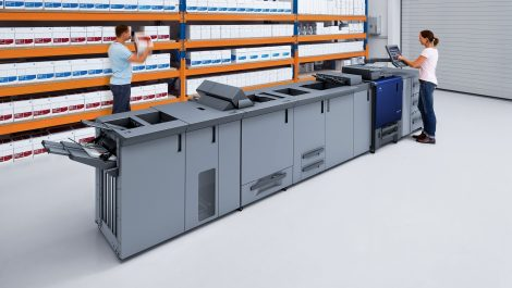 University Print Shop opts for AccurioPress C3080