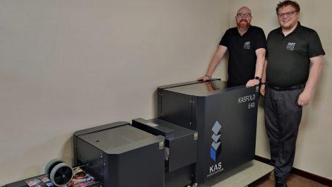 MDT installs Ashgate bookletmaker