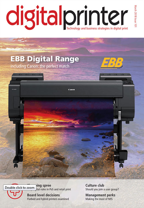 Digital Printer March 2018