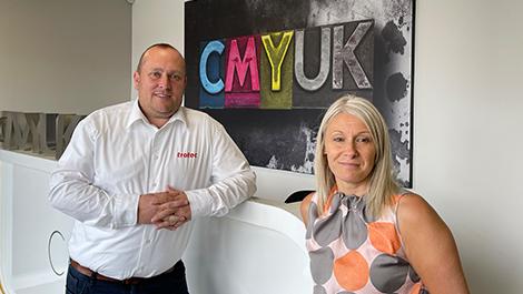 CMYUK announces Trotec partnership