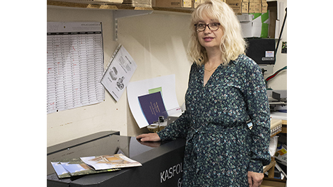 Lincoln Print & Copy Centre installs KAS bookletmaker