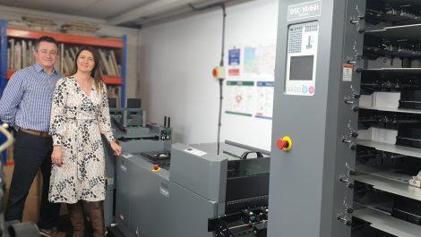 Duplo bookletmaker installed at Orchard