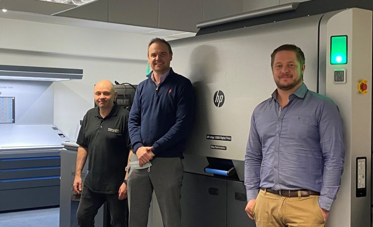 Platinum Print installs UK's first HP Indigo 12000 with 15K Value Pack