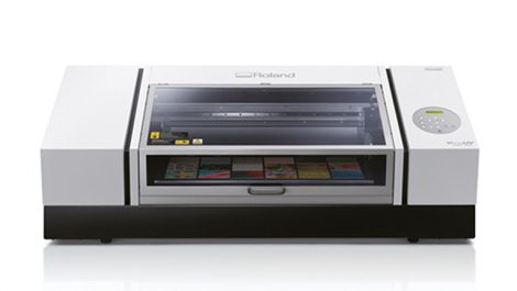 Roland adds faster and bigger UV flatbed for personalised items