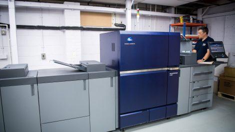 UK's first KM AccurioPress C12000 lands in Herts