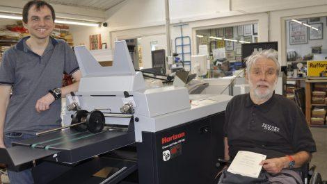 Rufford Printing installs Horizon CRF-362