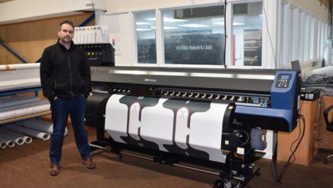 Banner Box installs Mimaki TS55-1800