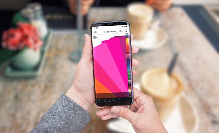 Spandex unveils colour swatch app