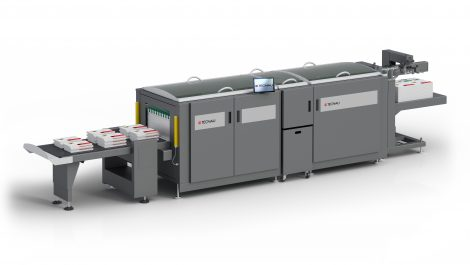Tecnau adds cutter/stacker for B2+ digital print