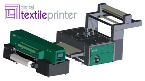 EFI Blazes a trail with new textile printers