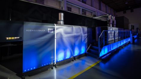 Koenig & Bauer Durst unveils VariJet B1 inkjet carton press