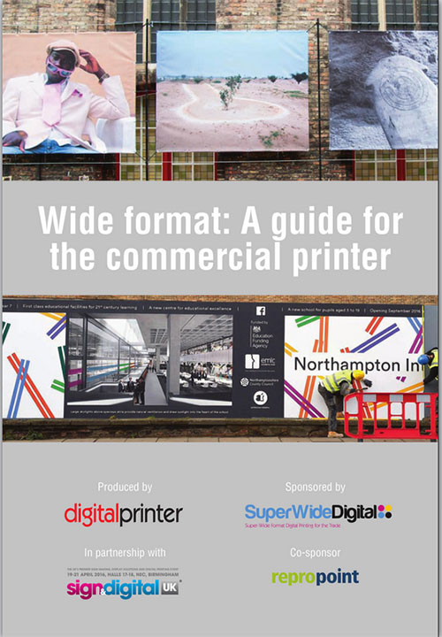 Guide to Wide Format 2016