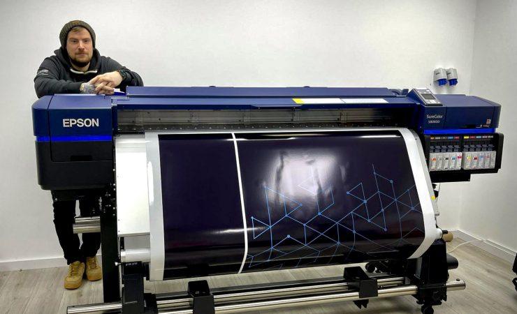 SureColor boosts Northampton vehicle wrap specialist