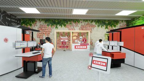 Xeikon opens virtual wall decoration centre