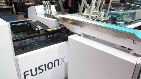 Datagraphic installs Böwe Fusion Cross enclosing line